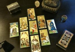 Los reyes en los arcanos menores del Tarot