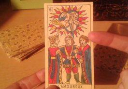 Que significa la carta el Enamorado en el Tarot